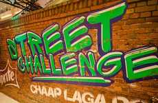Supermarket Soda Challenges - The Sprite Street Challenge Took Place at Pakistan's Dolmen Mall