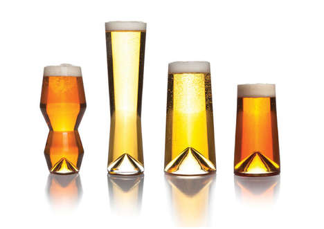 Flavor-Enhancing Beer Glasses - These Specialty Glasses are Designed for the Modern Beer Drinker