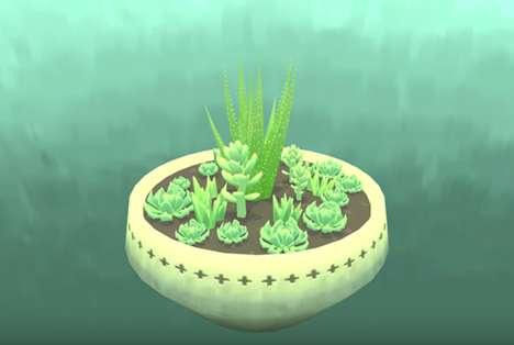 Succulent-Gardening Games