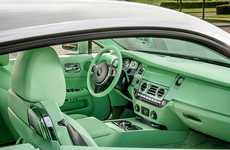 Aquatic-Colored Car Interiors