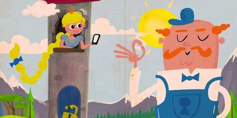 Fairytale Banking Commericals - RBC Retells Classic Stories to Show the Benefits of Mobile Banking