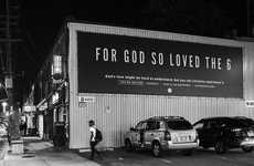 Rapper-Referencing Religion Billboards