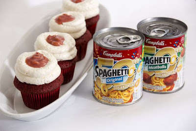 Canned Pasta Cupcakes