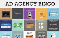 Ad-Inspired Bingo Cards - This Bingo Card Challengs Players to Pay Attention to Daily Advertisments