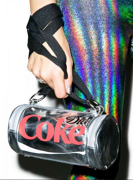 Stylish Soda Purses - This Diet Coke Can Bag is Refreshingly Fashionable