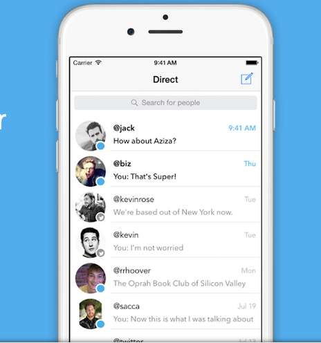 Direct Social Messaging Apps