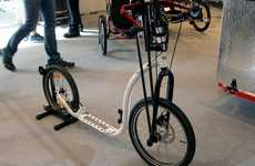 Hand-Powered Kickbikes