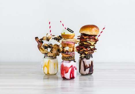 Outrageous Milkshake Toppers