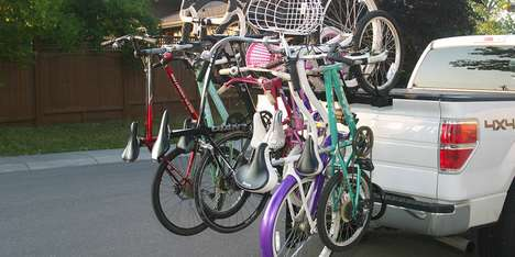 High-Capacity Bike Carriers