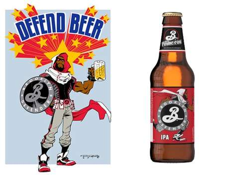 Comic-Con Superhero Beers - The Brooklyn Defender is a Limited Edition Brew for NYC Comic-Con