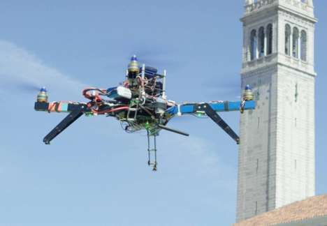 License Plate-Tracking Drones