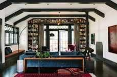 Library-Themed Homes - This Remodelled Library Keeps its Original Charm