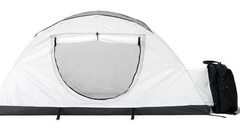Storage-Providing Tents