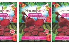 Crispy Beetroot Chips - The Natural Sins Beet Chips are an All-Natural Snack Alternative