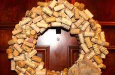 Wine Cork Wreaths - Get Creative This Christmas with a Wine-Inspired Cork Decoration