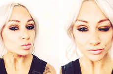 Ephemeral Makeup Tutorials - Lou Teasdale Has Been Doing Instagram and Snapchat Tutorial Posts