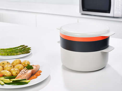 Multifunctional Microwavable Cookware