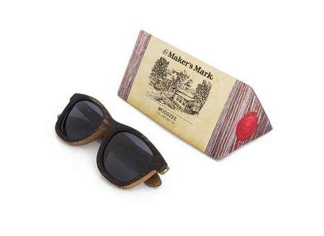Upcycled Barrel Sunglasses