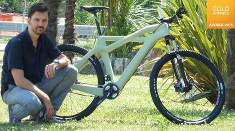 Compostable Bike Frames