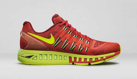 Endurance Running Shoes - The Nike Air Zoom Odyssey Sneakers are Engineered for Accelerated Training