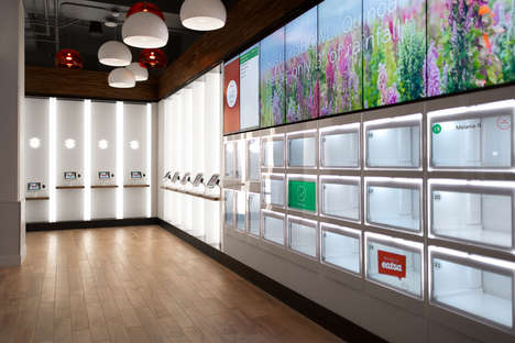 Self-Service Restaurants - This Automated Restaurant Serves Quinoa Bowls Without Waiters or Cashiers