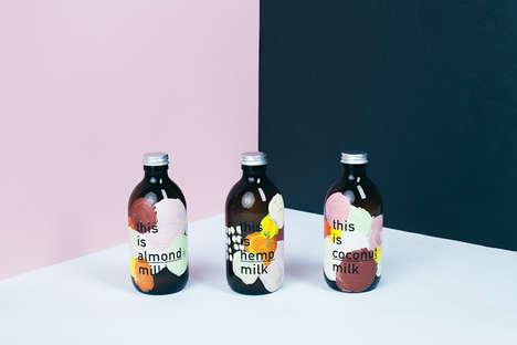 Artful Milk Labels