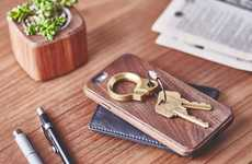 Stylish Metal Keyrings