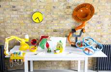 Whimsical Breakfast Accessories - These Playful Devices Encourage Children to Eat in the Morning