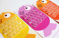 Fishy Band-Aid Dispensers - This Playful Band-Aid Dispenser Mimics a Fish with Vibrant Scales