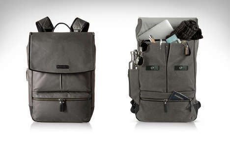 Rugged Technology Rucksacks - The Timbuk2 Walker Backpack is Prepared to Protect During Your Commute