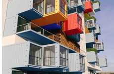 Shipping Container Towers - This Unique Tower Provides Luxury Housing for Mumbai Residents