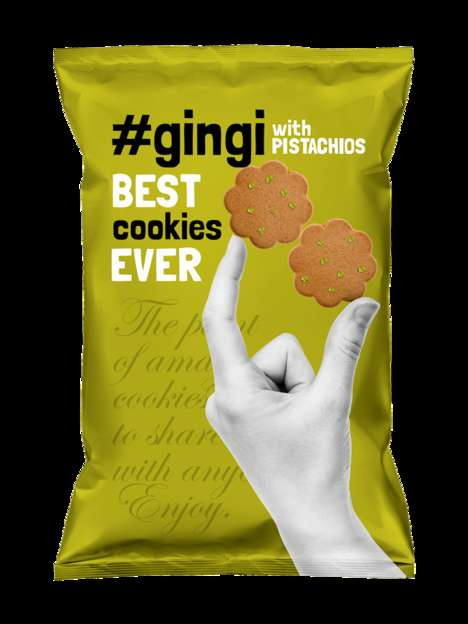 Hashtag Cookie Branding