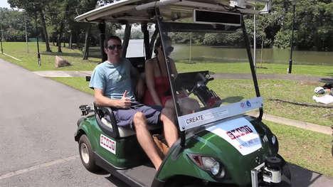 Self-Driving Golf Carts