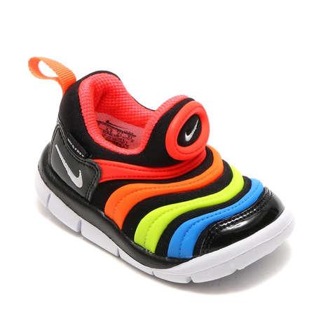 Rubberized Rainbow Sneakers