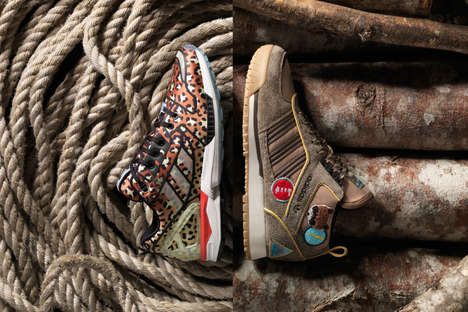 Rugged Co-Branded Sneakers