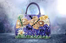 Artistic Limited-Edition Handbags