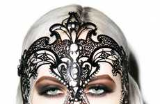 Modern Masquerade Masks - This Decorative Face Mask Brings a Sense of Elegance to Daily Looks