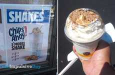 Gooey Cookie Milkshakes - This Shake Combines the Taste of S'mores and Chocolate Chip Cookies