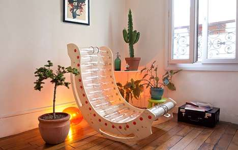 Upcycled Bottle Chairs