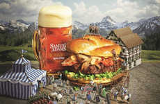 Oktoberfest-Inspired Burgers - This Gourmet Burger Celebrates the World's Largest Beer Festival