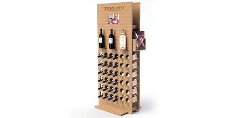 Pegboard Wine Racks