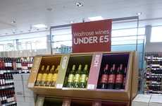 Flavorful Vino Displays - This Waitrose Store Display Organizes Wine Bottles by Flavor Profiles