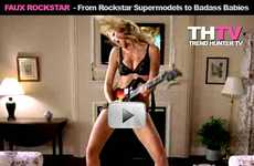 Faux Rockstar - Guitar Hero 3, Rock Band 2, Rockstar Supermodels, and Badass Babies