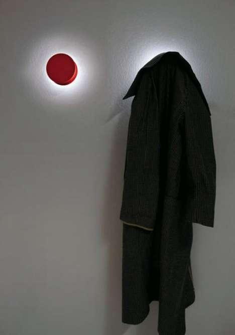 Illuminated Coat Hooks