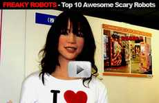 Top 10 Freaky Robots - Awesome, Scary and Better Than Gears of War 2