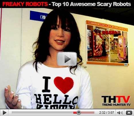 Top 10 Freaky Robots