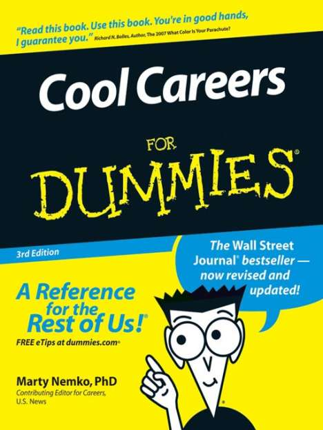 Cool Careers For Dummies: Trend Hunter Listed