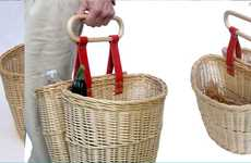 Bike-Friendly Portable Baskets