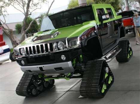 Hummer Snow Cruisers