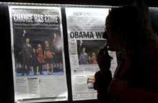$400 Newspapers - Obama Victory Editions Hot on eBay